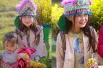 Những bé gái xinh xắn trên cung đường phượt Hà Giang-4