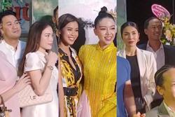 Vợ chồng Tăng Thanh Hà cùng gia đình đại náo thảm đỏ ra mắt phim 'Cậu Vàng'