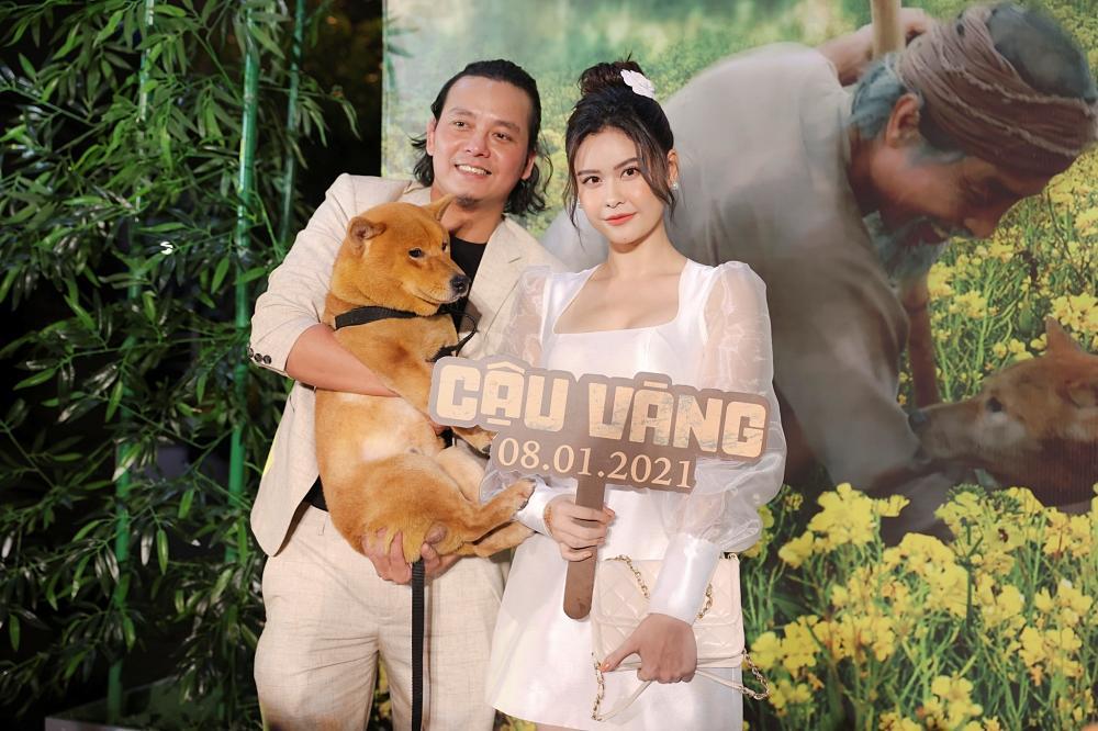 Vợ chồng Tăng Thanh Hà cùng gia đình đại náo thảm đỏ ra mắt phim Cậu Vàng-14