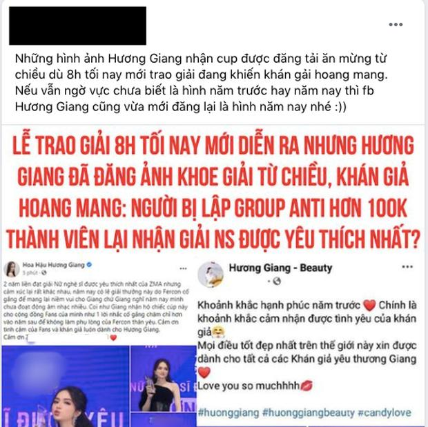 Tranh cãi mới của Hương Giang: Tự nhận chưa hết sức cho âm nhạc nhưng lại giành giải Nữ nghệ sĩ được yêu thích nhất?-6