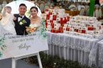 Lộ thực đơn xịn sò trong đám cưới lần 3 của Bùi Tiến Dũng ở khách sạn hạng sang-7