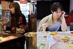 Dàn sao Hàn hạng A trông thế nào khi bị bắt gặp tại quán ăn bình dân?