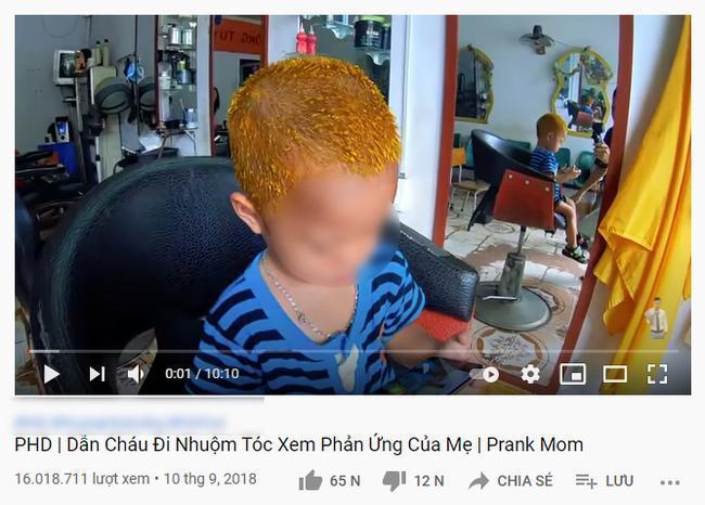 Kênh Youtube cho trẻ nội dung nhảm nhí: Thử thách đập vỡ TV, phá nhà cửa cho vui-4