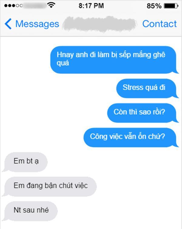 Hát mãi kiếp friendzone nếu crush chỉ trả lời tin nhắn như có như không thế này-1