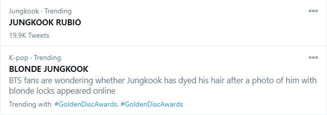 Golden Disc Awards Day 1: IU giật Daesang Digital, Jungkook tóc bạch kim náo loạn MXH-6