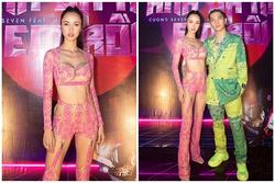 Vũ Ngọc Anh mặc đồ xuyên thấu như nội y trong tiệc sinh nhật Cường Seven