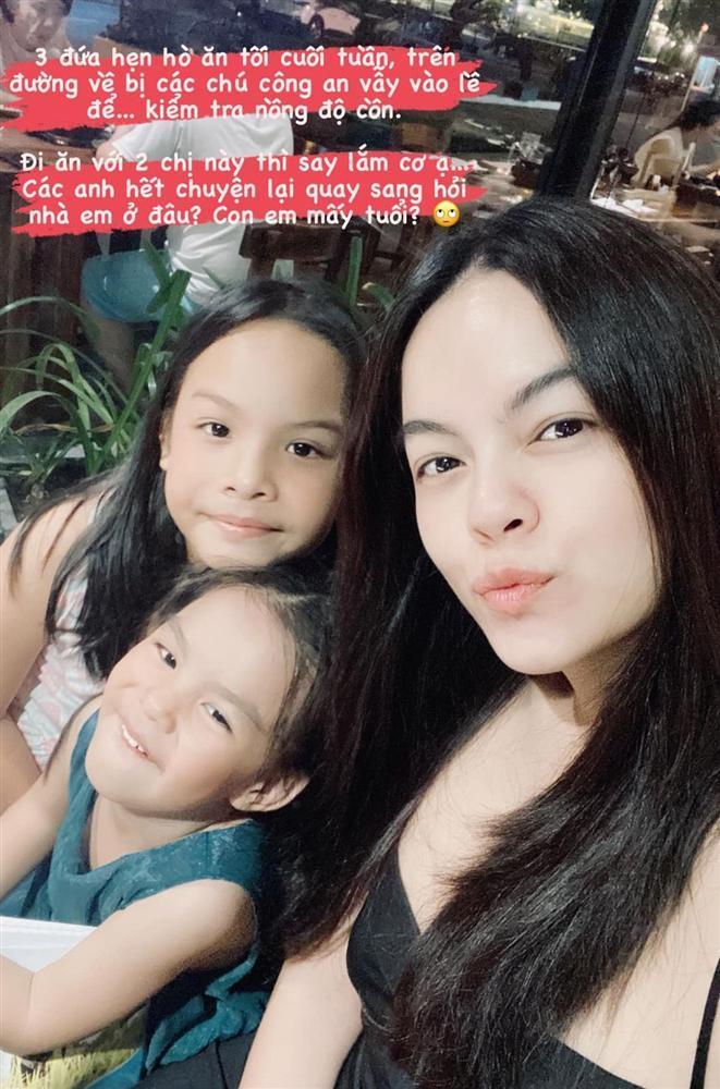 3 mẹ con Phạm Quỳnh Anh bị công an giao thông kiểm tra nồng độ cồn-1