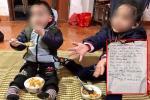 Hai cháu nhỏ 3 và 5 tuổi ở Hà Nội bị bỏ rơi giữa trời giá rét kèm lá thư 'Bố mẹ đã chết, xin nuôi hộ'