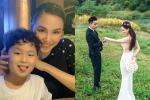 Diễm Hương mừng sinh nhật quý tử, sơ hở để lộ ly hôn Quang Huy?