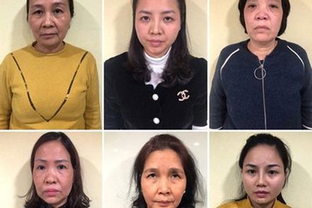 Bắt 6 'nữ quái' trong đường dây đánh bạc công nghệ cao ở Hải Phòng