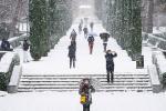 Loạt ảnh tuyết rơi trắng xóa tựa trời Âu tại các điểm du lịch Tây Bắc khiến dân tình phát sốt-13