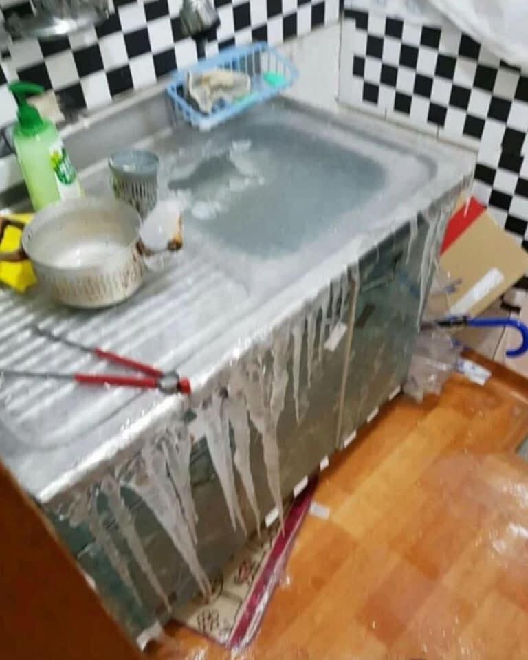 Nghe lời chủ nhà để nước nhỏ giọt tránh đóng băng, cô gái nhận kết thảm thương-2