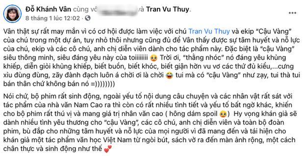 Làng phim Việt nháo nhào vì Cậu Vàng: Khen dè dặt, chê sấp mặt-2