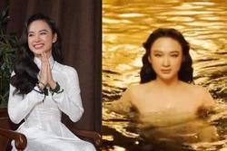 Lộ clip Angela Phương Trinh ngâm mình dưới nước, netizen cầu xin 'Chị đừng hát'