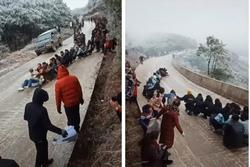 Ghen tị với những người đang được tận mắt ngắm tuyết ở Lào Cai và sự thật