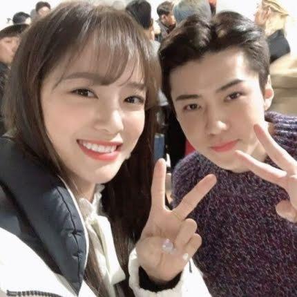 Kim Sejeong lên tiếng khi bị tấn công vì quá thân thiết với Sehun EXO-1