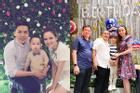 Thêm 1 năm chồng Diễm Hương vắng mặt trong tiệc sinh nhật con trai