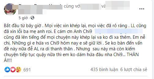 Hội bạn Vân Quang Long làm gì sau khi vợ cố ca sĩ lên tiếng xin lỗi?-4