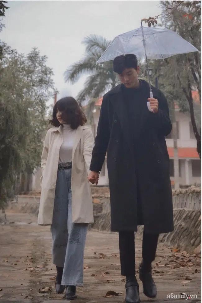Bộ ảnh thu hút đến 41 nghìn like và câu chuyện tình của cặp đôi hơn kém nhau 26cm-2