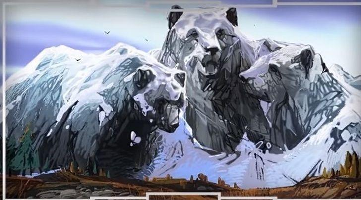 Bạn nhìn thấy con gấu hay ngọn núi? Câu trả lời tiết lộ cách bạn vượt qua nghịch cảnh-1