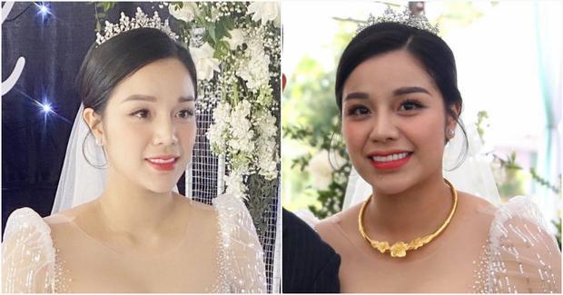 Khánh Linh - vợ Bùi Tiến Dũng lần đầu xuất hiện sau đám cưới, nhan sắc tăng lên vài chân kính-6