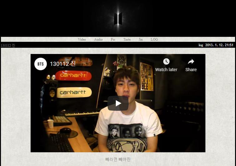 8 năm ngày Jin BTS phát vlog đầu tiên cũng được ARMY kỷ niệm tưng bừng-1