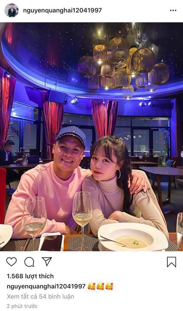 Huỳnh Anh đăng ảnh cùng Quang Hải nhưng lại sửa chi tiết đặc biệt-3