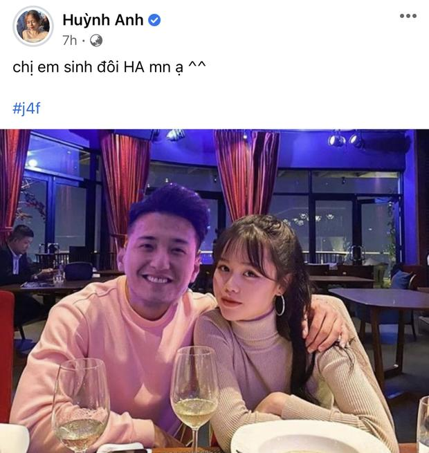 Huỳnh Anh đăng ảnh cùng Quang Hải nhưng lại sửa chi tiết đặc biệt-4