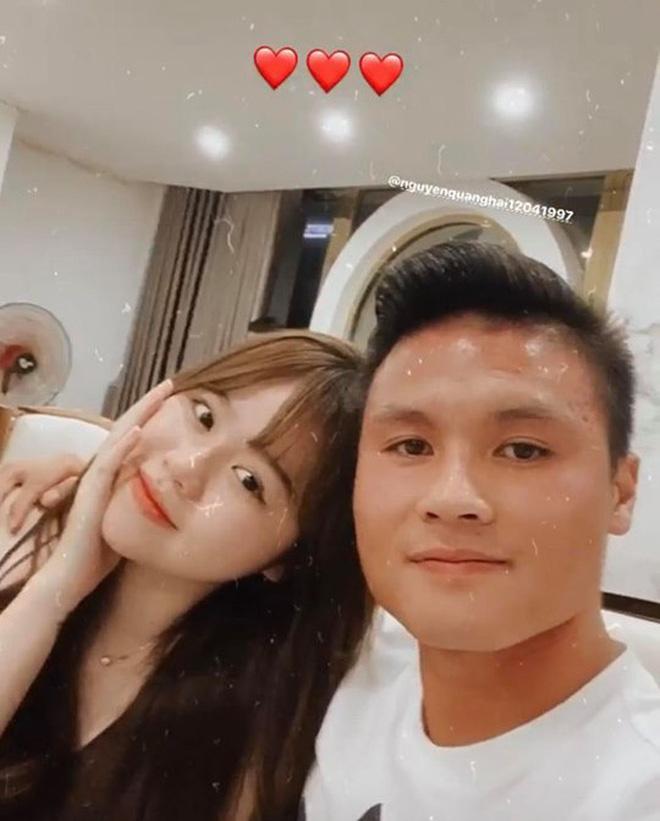 Huỳnh Anh đăng ảnh cùng Quang Hải nhưng lại sửa chi tiết đặc biệt-2