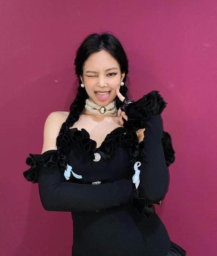 3 dáng pose đặc trưng của Jennie BLACKPINK có ngay ảnh triệu like-7