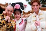 Cặp sao Tân Hoàn Châu Cách Cách lên tiếng về tin ly hôn-2