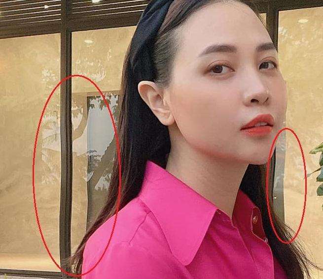 Mẹ bỉm Đàm Thu Trang bị bóc nhan sắc hoàn hảo nhờ công nghệ-2