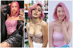 Mâu Thủy 'lột xác' mạnh mẽ với tóc hồng rực giống Thúy Ngân, Vũ Ngọc Anh