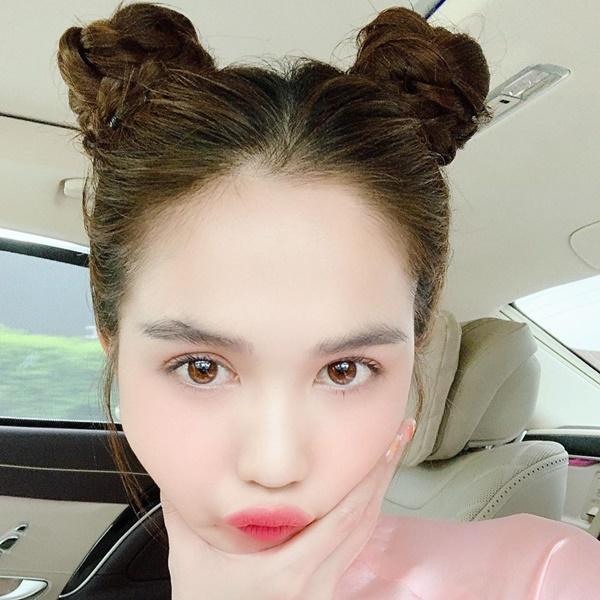 3 kiểu tóc hack tuổi' giúp Ngọc Trinh nhìn trẻ như gái 18-2