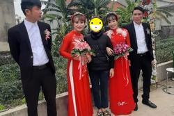 Đám cưới 'không sinh cùng ngày nhưng nguyện lấy chồng cùng giờ' cặp chị em xứ Nghệ