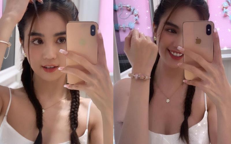 3 kiểu tóc hack tuổi' giúp Ngọc Trinh nhìn trẻ như gái 18-7