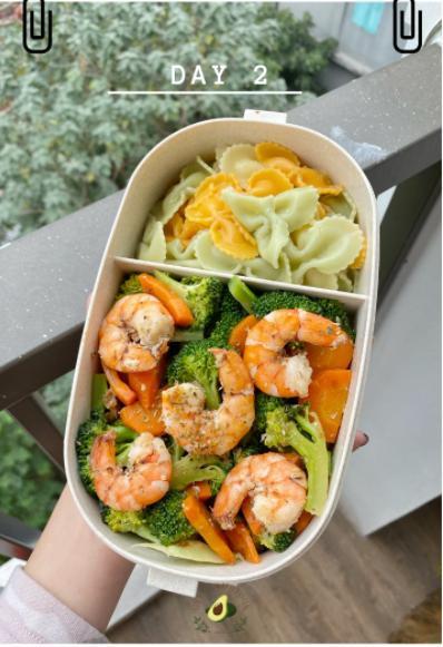 Nhìn hộp cơm ăn theo chế độ Eatclean của nàng sinh viên, ai cũng có động lực giảm cân-3