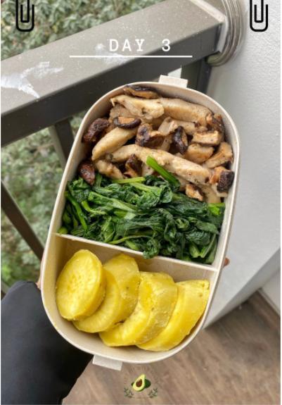 Nhìn hộp cơm ăn theo chế độ Eatclean của nàng sinh viên, ai cũng có động lực giảm cân-4