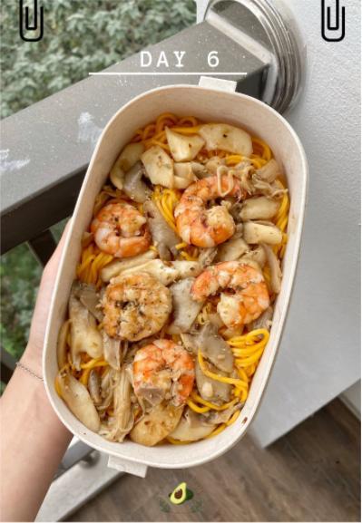 Nhìn hộp cơm ăn theo chế độ Eatclean của nàng sinh viên, ai cũng có động lực giảm cân-7