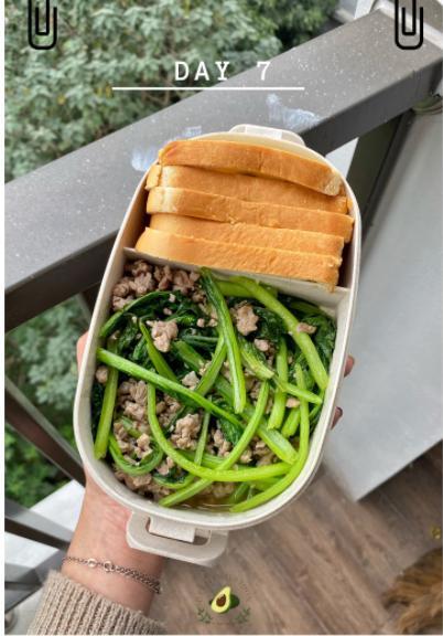 Nhìn hộp cơm ăn theo chế độ Eatclean của nàng sinh viên, ai cũng có động lực giảm cân-8