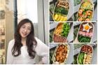 Nhìn hộp cơm ăn theo chế độ Eatclean của nàng sinh viên, ai cũng có động lực giảm cân