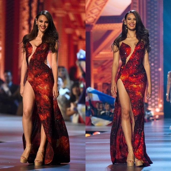 Những Hoa hậu Hoàn vũ lên ngôi với tuyệt tác đầm đỏ trong 2 thập kỷ qua-11