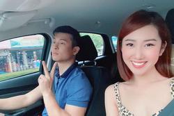 Thúy Ngân 'bẻ lái' cao tay khi được hỏi tình yêu với Trương Thế Vinh