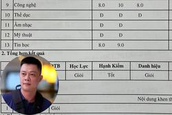 Bỏ bê việc học của con, MC nổi tiếng VTV ngỡ ngàng khi nhìn tờ kết quả học tập