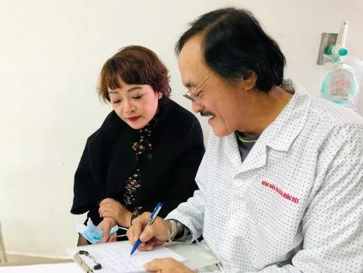 Nghệ sĩ Giang Còi nhập viện vì nghi có khối u ở họng-1
