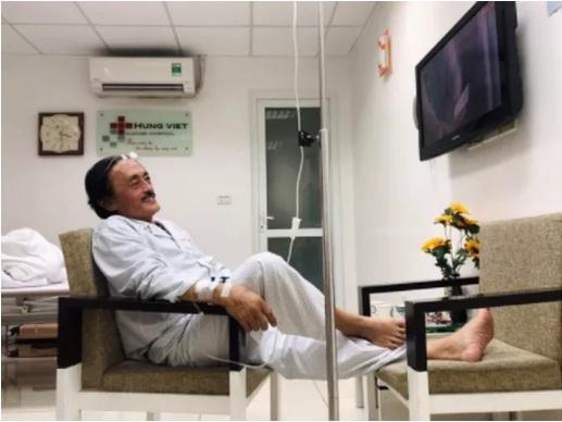 Nghệ sĩ Giang Còi nhập viện vì nghi có khối u ở họng-3