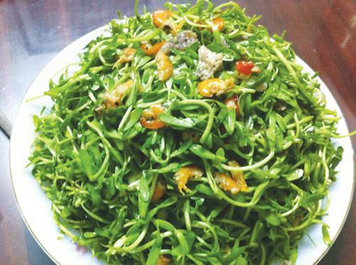 5 loại rau mọc dại ven đường bỗng trở thành đặc sản nổi tiếng-2