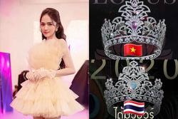 Vương miện 1 tỷ của Hoa hậu Chuyển giới Việt Nam 2020 bị soi giống Thái Lan