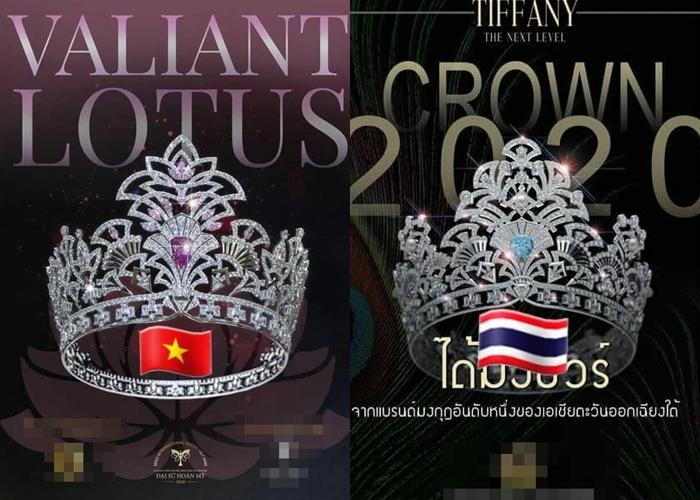 Vương miện 1 tỷ của Hoa hậu Chuyển giới Việt Nam 2020 bị soi giống Thái Lan-2
