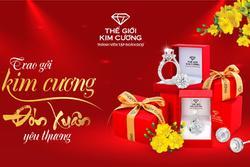 Thế Giới Kim Cương ưu đãi 15% trang sức nhân dịp năm mới